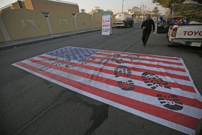 TOPSHOT-IRAQ-IRAN-POLITICS-UNREST-US