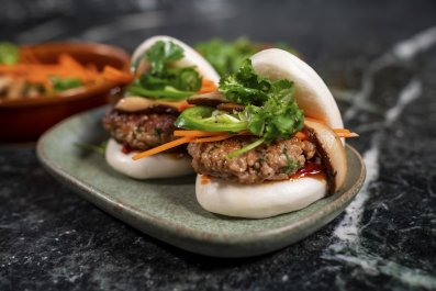 impossible foods pork bao