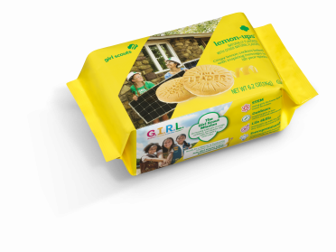 Girl Scouts Lemon Up Packaging