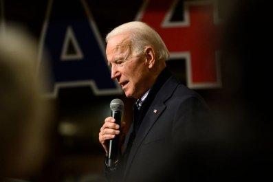 Joe Biden at Iowa Campaign Event