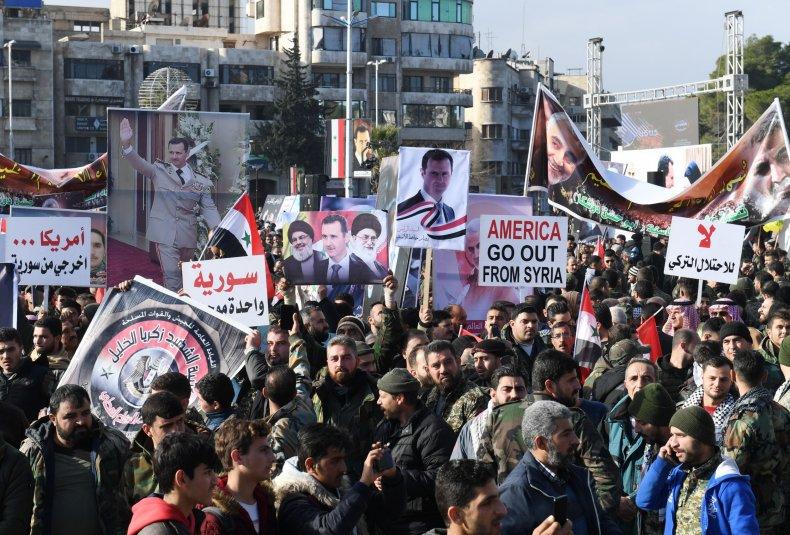 syria, protest, assad, khamenei, nasrallah, soileimani