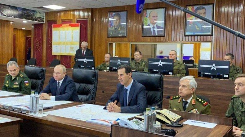 russia, putin, syria, assad, military, meeting