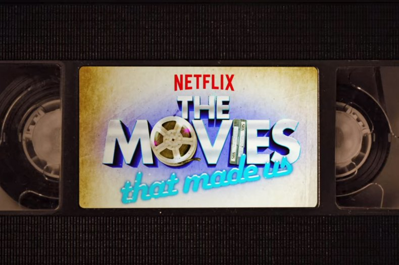 Netflix Movies That Made Us Logo Screen