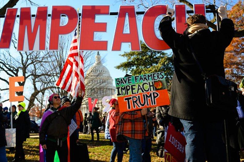 impeachment activists ahead of house vote