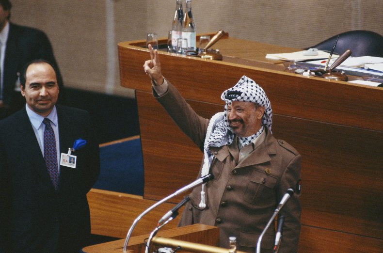 palestine, liberation, organization, arafat, united, nations
