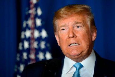 President Donald Trump at Mar-a-Lago