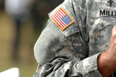 Stock: American military uniform