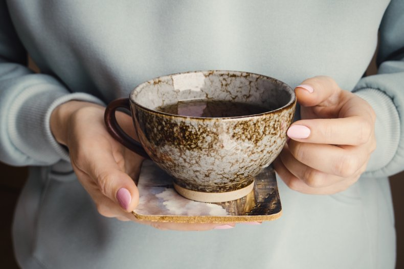 tea, mug, cup and saucer, drink, stock,getty