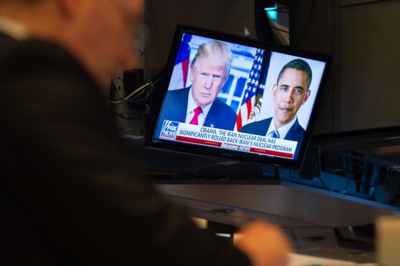 Trump and Obama on Fox News