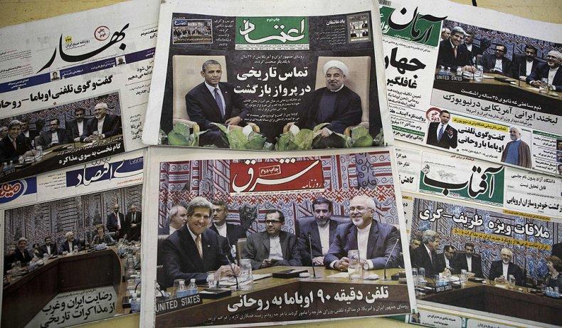 Newspapers in Tehran