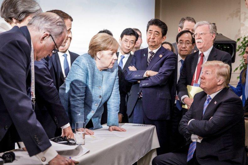 Trump at G-7