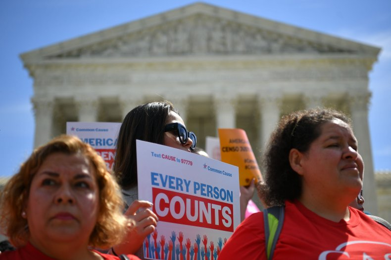 Supreme Court Census protest