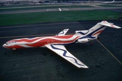 Braniff Airways plane