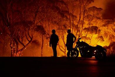 australia wildfire new south wales america