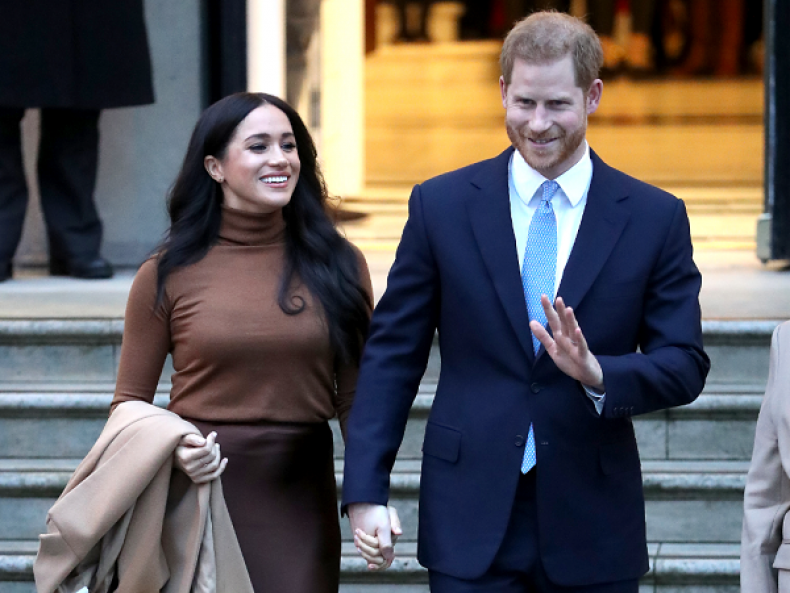 Prince Harry and Meghan Markle to 'Step Back' as Members of the Royal Family