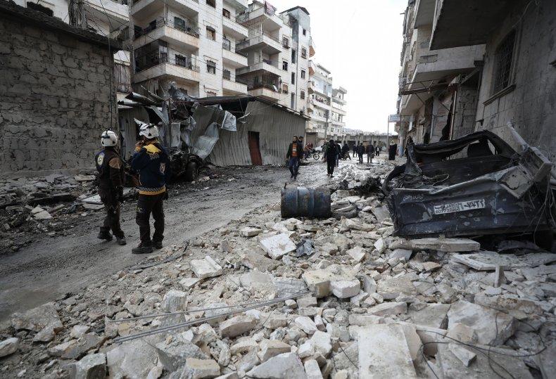 syria, idlib, strike, government, attack
