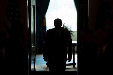 Trump Iran deescalation