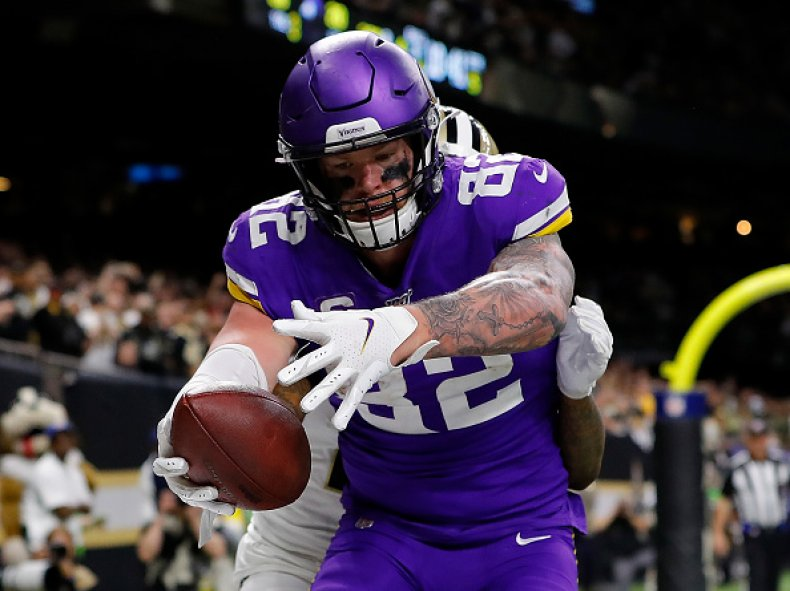 Kyle Rudolph Minnesota Vikings