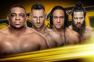 wwe nxt fatal fourway north american title