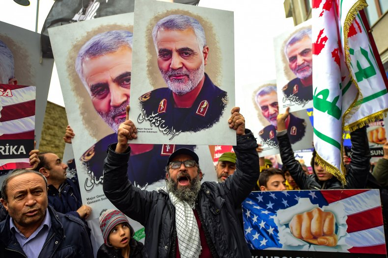 Qassem Soleimani, Donald Trump,  intelligence, evidence, lawmakers