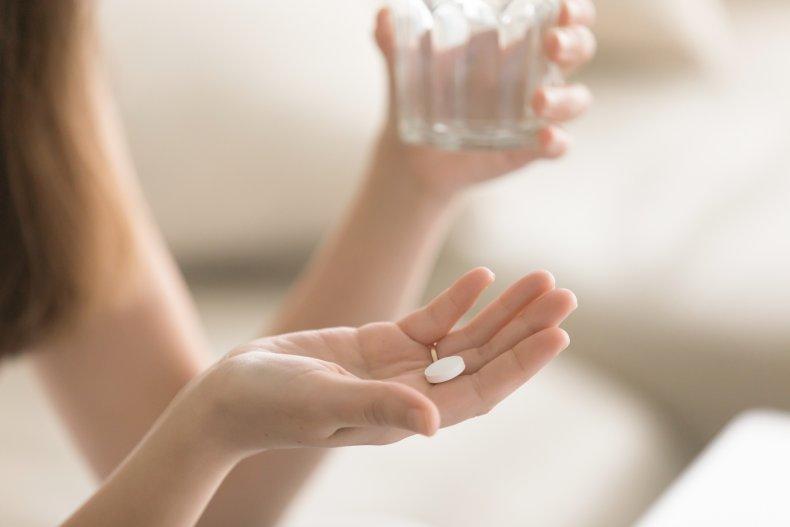 woman, pill, medicine, drugs, health, stock, getty