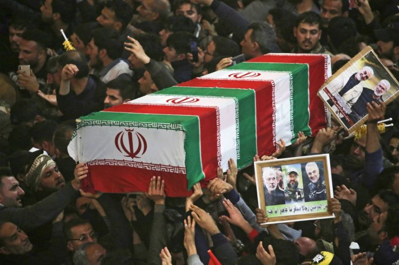 Mourners for Soleimani