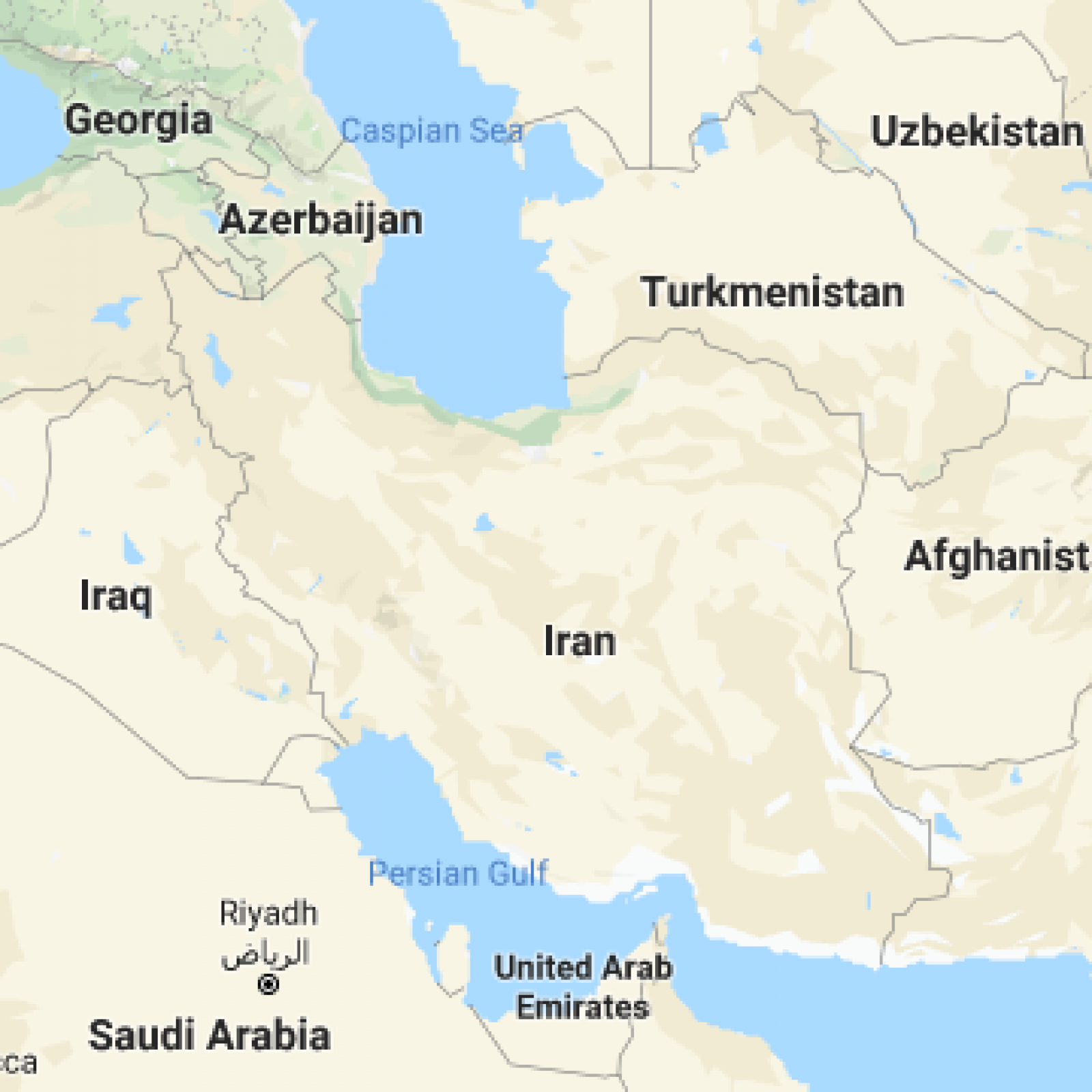 Iran On World Map 77% Of Americans Surveyed Can't Find Iran On A World Map