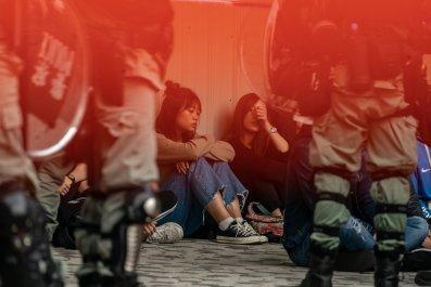 Hong Kong protestors