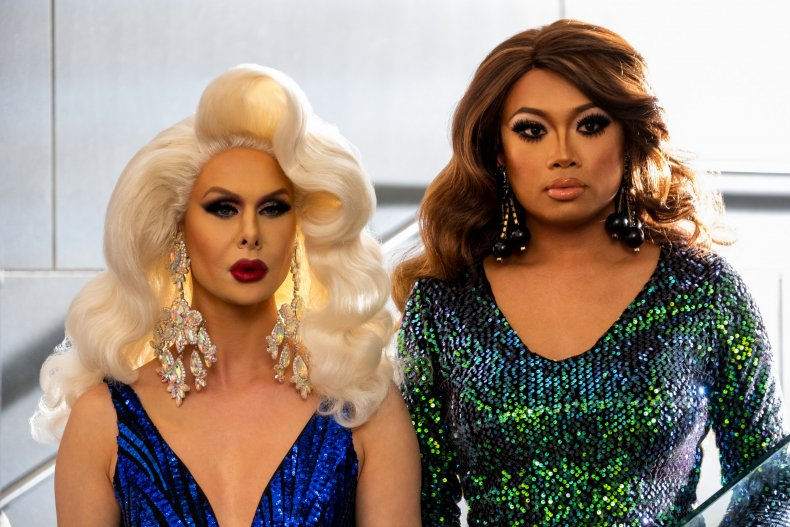 aj and the queen trinity jujubee
