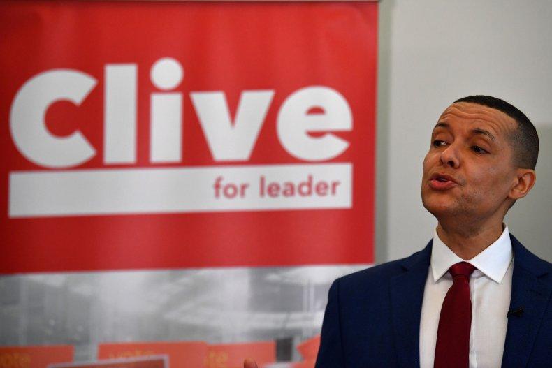 British MP Clive Lewis