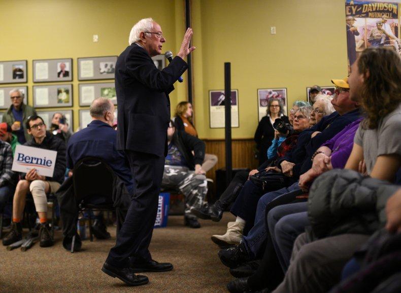 Sanders Not Convinced of Trump's Iran Justification