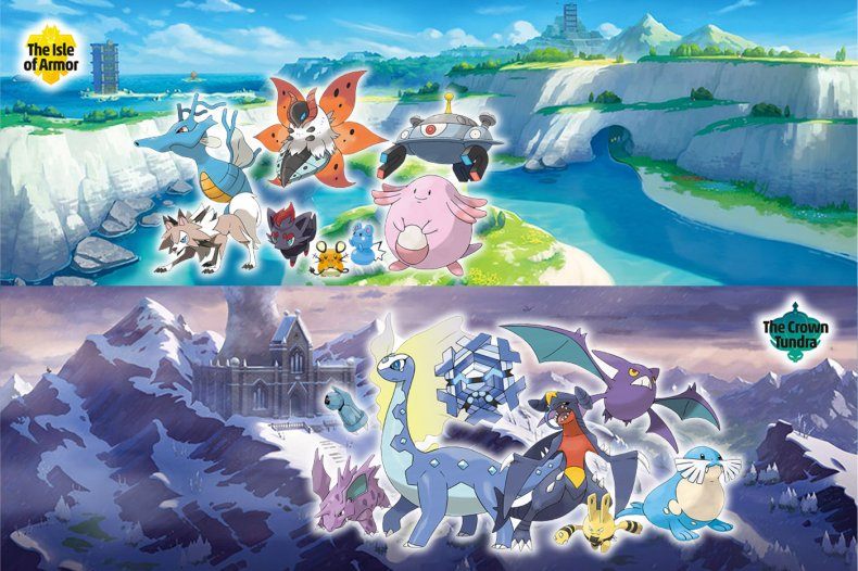 pokemon sword shield dlc returning list