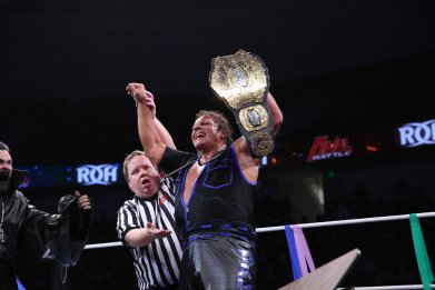 ring of honor pco wins championship