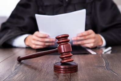 Judge Ruling with Document