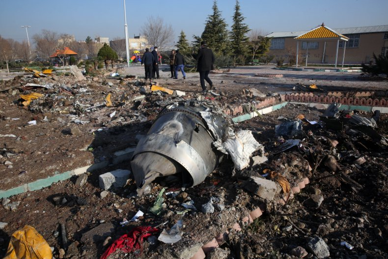 iran plane crash, ukraine, tehran, getty,