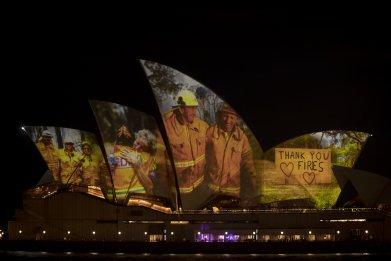 Australia Latest Wildfire Sydney Opera House