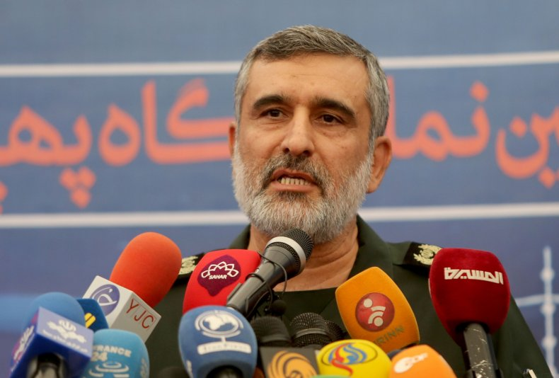 General Amir Ali Hajizadeh,Revolutionary Guard's aerospace division,tehran,