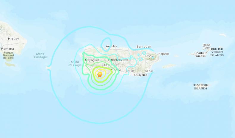 Puerto Rico Earthquake January 11 2020
