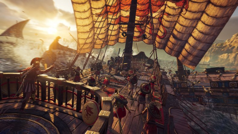 assassins creed odyssey ships