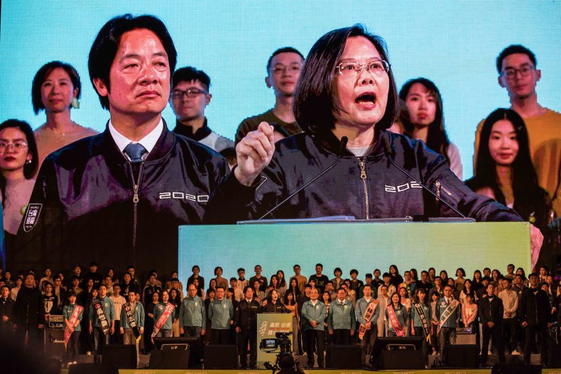 tsai ing-wen taiwan president us