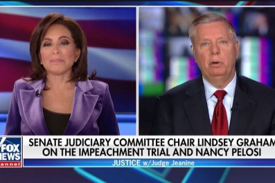 lindsey graham senate impeachment trial