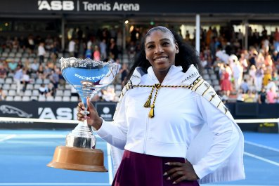 Serena Williams ASB Classic