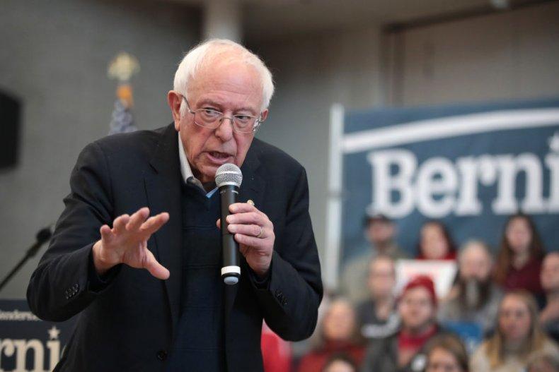 Bernie Sanders on Campaign Trail in Iowa