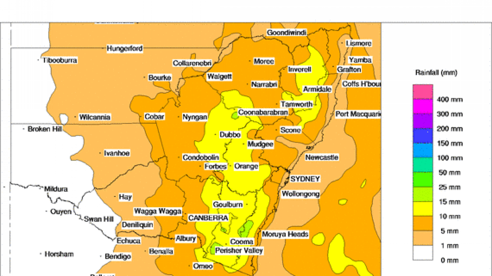 Australia Wildfire Map Update: High and Very High Fire ...