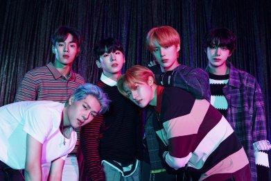 Monsta X K-pop boy band 2020