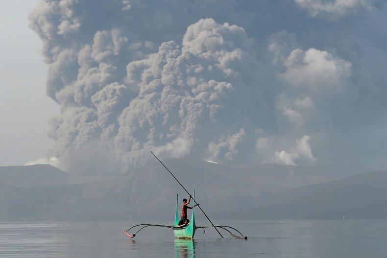 taal volcano activity