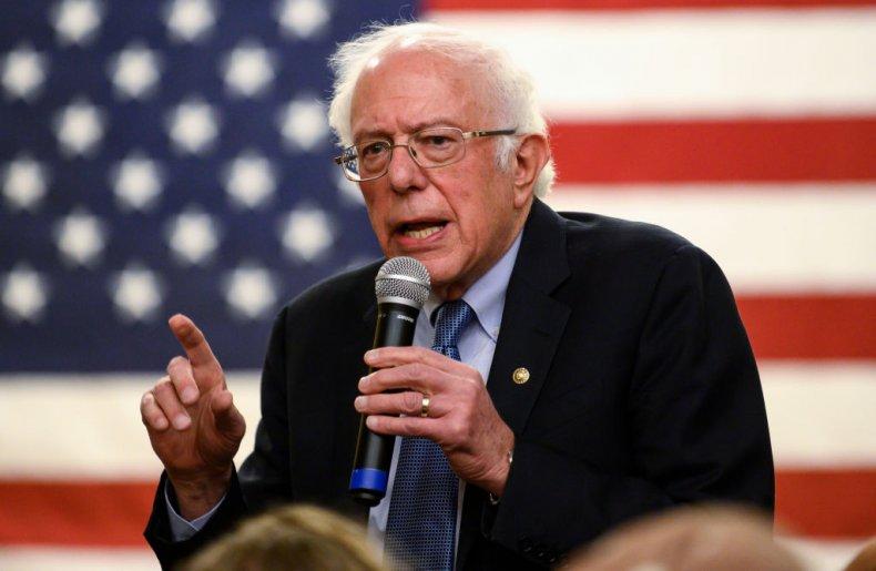 Bernie Sanders in Anamosa, Iowa
