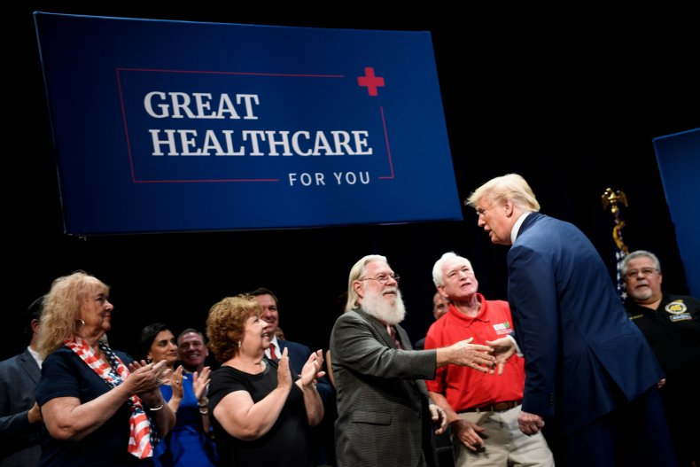 trump falsely claims saved pre-existing conditions healthcare