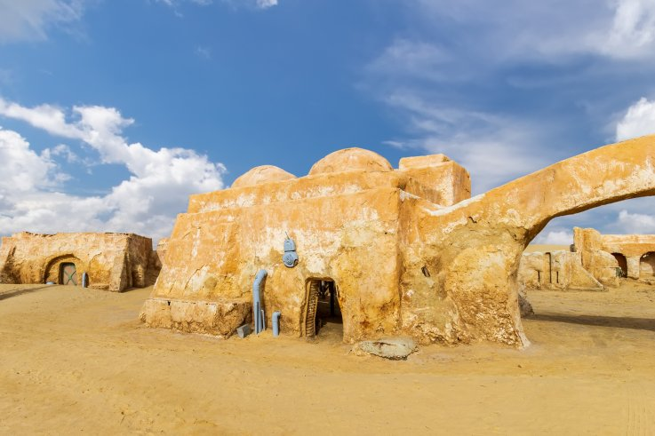 Parts of the original set used to depict Tatooine (Anakin and Luke Skywalkers' home planet) can be visited in Tunisia.