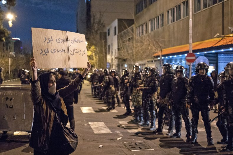 iran, protest, university, ukraine, flight, shootdown